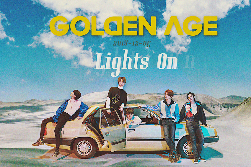 GOLDEN AGE青春第二唱 《Lights On》照亮自我新曙光